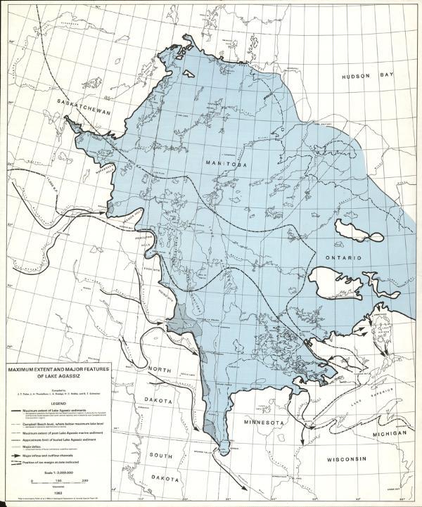 north dakota usa map with Lake Agassiz on 86494886 as well 59875 moreover Salt Belt additionally Lake Agassiz additionally Regions.